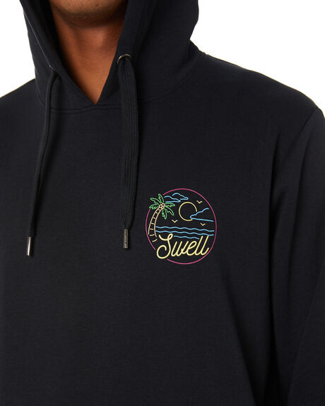 BLACK MENS CLOTHING SWELL JUMPERS - S5203445BLACK