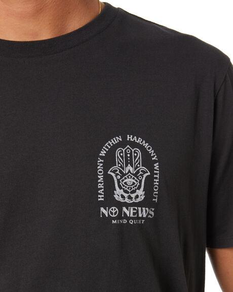 ONYX MENS CLOTHING NO NEWS TEES - N5214002ONYX