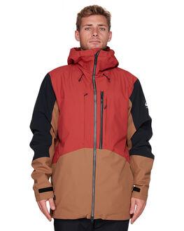 BARN RED BOARDSPORTS SNOW QUIKSILVER MENS - EQYTJ03231-RQJ0