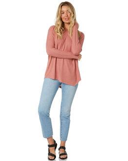 DUSTY ROSE WOMENS CLOTHING BETTY BASICS TEES - BB728H20DROSE