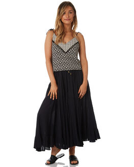 BLACK WOMENS CLOTHING TIGERLILY SKIRTS - T381278BLK