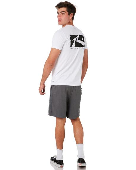 WHITE MENS CLOTHING RUSTY TEES - TTM2079WHT