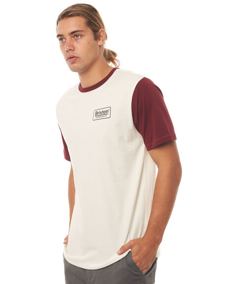 OFF WHITE MENS CLOTHING BRIXTON TEES - 02429OFFWH