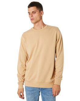 TAN MENS CLOTHING AS COLOUR JUMPERS - 5121TAN
