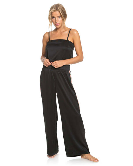 ANTHRACITE WOMENS CLOTHING ROXY PANTS - ERJNP03300-KVJ0