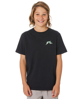 BLACK KIDS BOYS RUSTY TOPS - TTB0633BLK