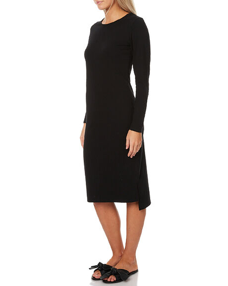 BLACK WOMENS CLOTHING SWELL DRESSES - S8172477BLK