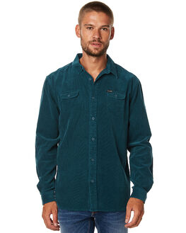 TEAL MENS CLOTHING THE CRITICAL SLIDE SOCIETY SHIRTS - WSS1710TEAL