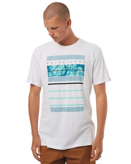WHITE MENS CLOTHING QUIKSILVER TEES - EQYZT04505WBB0
