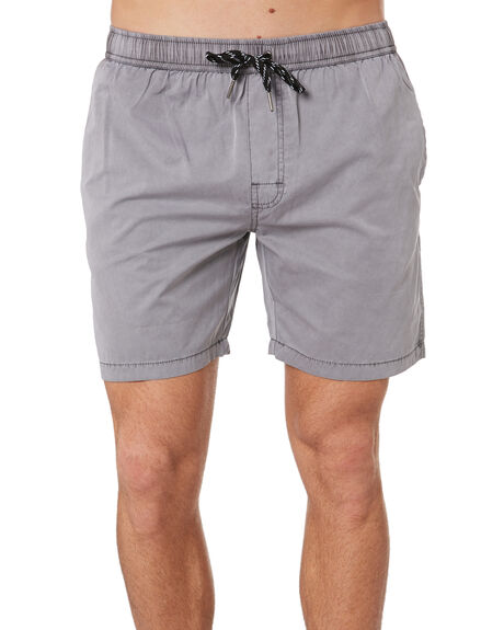 STONE GREY MENS CLOTHING SWELL BOARDSHORTS - S5164233STGRY