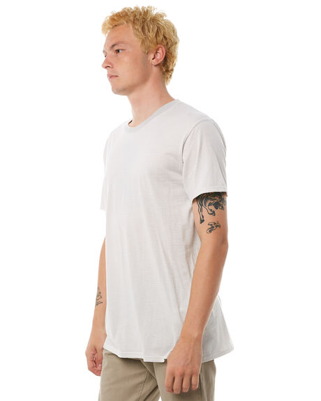LIGHT GREY OUTLET MENS BANKS TEES - WTS0220LGY