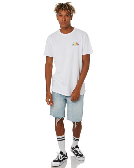 WHITE MENS CLOTHING SWELL TEES - S5203014WHITE