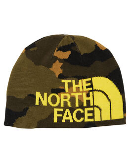 TAUPE GREEN KIDS BOYS THE NORTH FACE HEADWEAR - NF0A3FNLJM1