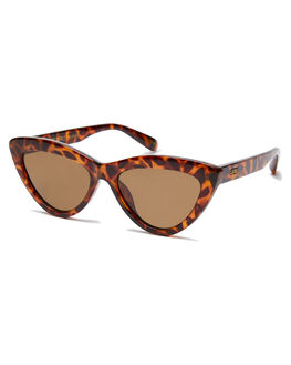 CARAMEL TORT WOMENS ACCESSORIES LOCAL SUPPLY SUNGLASSES - RESORTCTP3