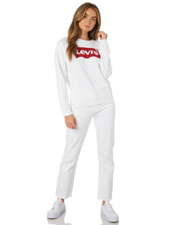 WHITE WOMENS CLOTHING LEVI'S JUMPERS - 29717-0014WHT