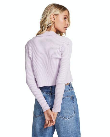PURPLE WOMENS CLOTHING INSIGHT FASHION TOPS - 35924300022