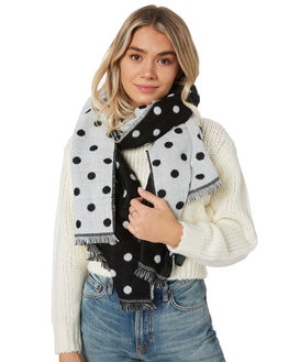 BLACK SPOT WOMENS ACCESSORIES BETTY BASICS SCARVES + GLOVES - BB940W20BLKS