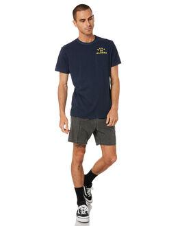NAVY MENS CLOTHING DEUS EX MACHINA TEES - DMS91311DNVY