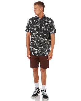 BORDEAUX BROWN MENS CLOTHING VOLCOM SHORTS - A0931602BXB