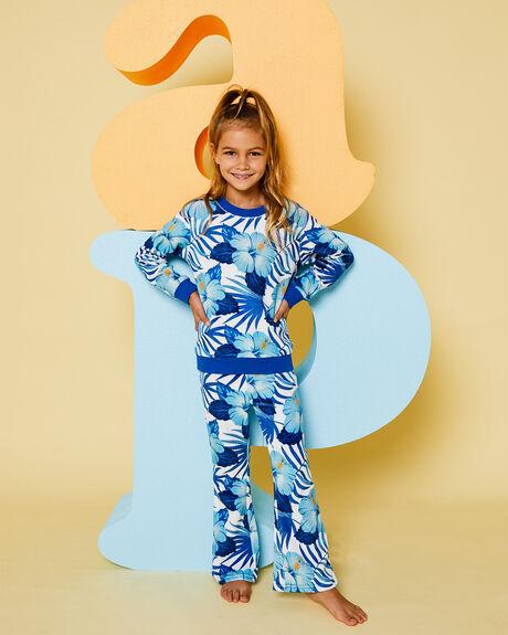 BLUE HIBISCUS KIDS GIRLS PUMPKIN PATCH JUMPERS + JACKETS - 20TG7006SWBLUHB
