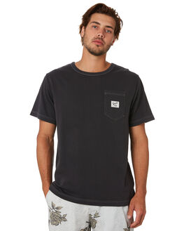 HERITAGE BLACK MENS CLOTHING THRILLS TEES - TA20-132BHHRBLK