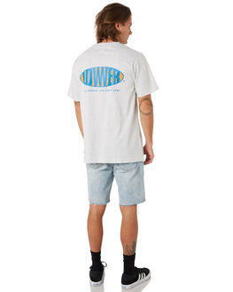 SILVER MARLE OUTLET MENS LOWER TEES - LO19Q3MTS01SLVML