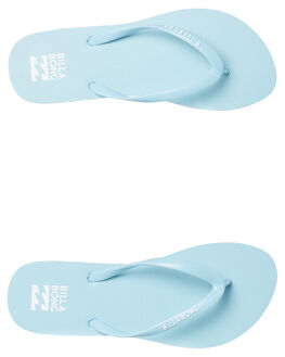 DREAM BLUE WOMENS FOOTWEAR BILLABONG THONGS - 6671857DBLU