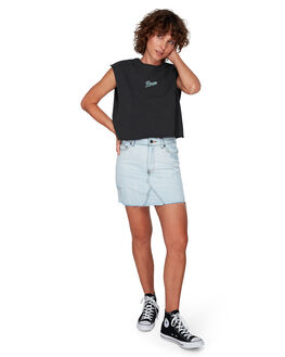 BLEACHOUT WOMENS CLOTHING RVCA SKIRTS - RV-R292837-1BO
