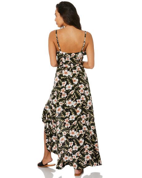 BLK COMBO WOMENS CLOTHING VOLCOM DRESSES - B1312015BLC