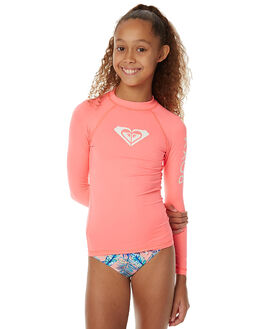 NEON GRAPEFRUIT SURF RASHVESTS ROXY GIRLS - URGWR03019NKN0