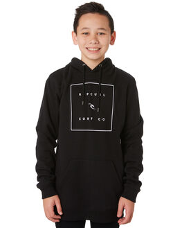 BLACK KIDS BOYS RIP CURL JUMPERS + JACKETS - KFEQU10090
