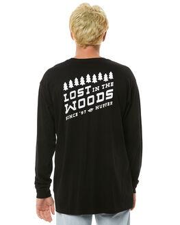 BLACK MENS CLOTHING HUFFER TEES - MLS81S660-583BLK