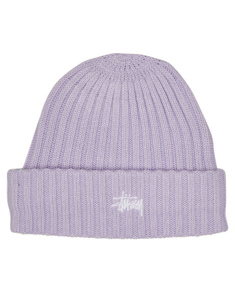 ORCHID MENS ACCESSORIES STUSSY HEADWEAR - ST715007ORCHD
