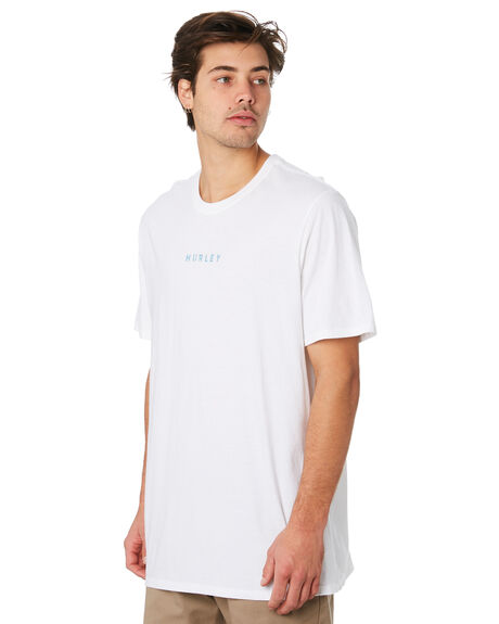 WHITE MENS CLOTHING HURLEY TEES - AR5467100