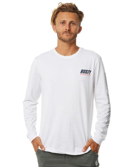 WHITE MENS CLOTHING RUSTY TEES - TTM2050WHT
