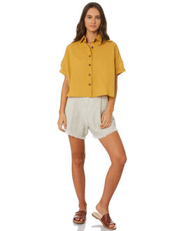 MUSTARD OUTLET WOMENS SWELL FASHION TOPS - S8201021MUSTD