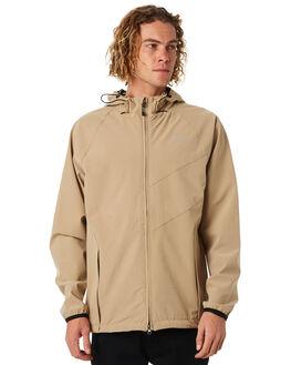 GOLDRUSH MENS CLOTHING RVCA JACKETS - R183438GRUSH
