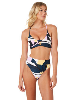 BLUE PRINT WOMENS SWIMWEAR SEAFOLLY BIKINI TOPS - 30815-614BLU