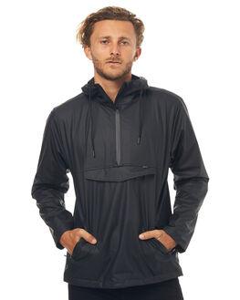 BLACK MENS CLOTHING DEPACTUS JACKETS - D5171384BLACK