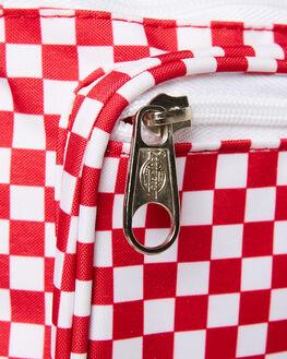TRUE RED MINI CHECK MENS ACCESSORIES DICKIES BAGS + BACKPACKS - 53742TRMC