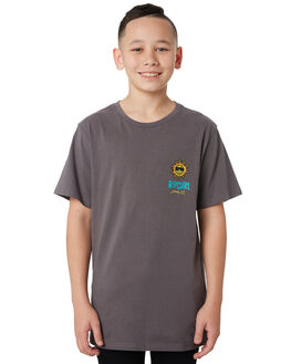 DARK GREY KIDS BOYS RIP CURL TOPS - KTEWB2-1221