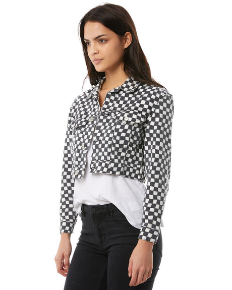 BLACK WHITE OUTLET WOMENS INSIGHT JACKETS - 5000001015BLKW