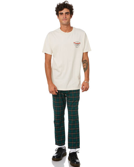 HERITAGE WHITE MENS CLOTHING THRILLS TEES - TA21-106AHWHT