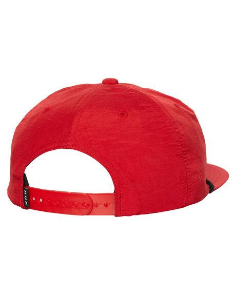 RED MENS ACCESSORIES HUF HEADWEAR - HT55D02RED