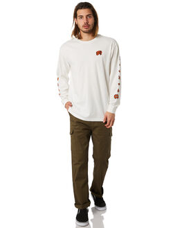 OFF WHITE MENS CLOTHING BRIXTON TEES - 06772OFFWH