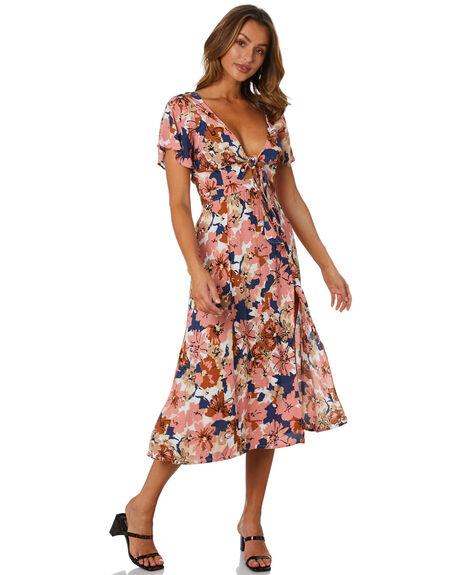 BEBE FLORAL WSTOCK WOMENS CLOTHING RUE STIIC DRESSES - AS-20-03-1-BFW-VRBFW