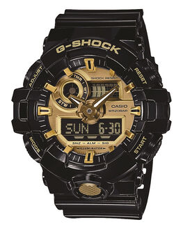 BLACK GOLD MENS ACCESSORIES G SHOCK WATCHES - GA710GB-1ABLKGD