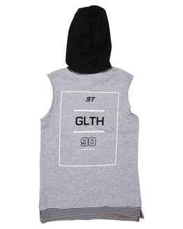 GREY MARLE KIDS TODDLER BOYS ST GOLIATH TOPS - 2821014GRM