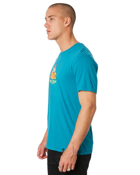BISCAY BAY OUTLET MENS HUF TEES - TS00756-BCYBY