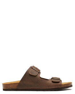 TAUPE MENS FOOTWEAR SWELL SLIDES - 100010TAUPE